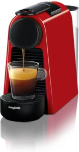 Nespresso Essenza Mini Coffee Machine, Ruby Red Finish by Magimix Best Coffee Machine For Home Used